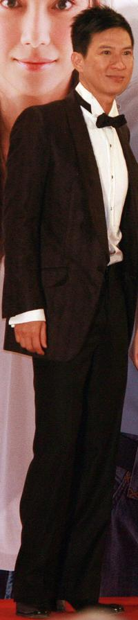 Nick Cheung at the 26th Hong Kong Film Awards.
