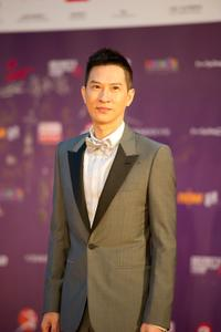 Nick Cheung at the 29th Hong Kong Film Awards.