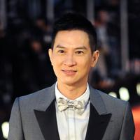 Nick Cheung at the red carpet of the Hong Kong Film Awards.