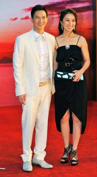 Nick Cheung and Esther Kwan at the 28th Hong Kong Film Awards 2009.