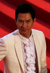Nick Cheung at the 27th Hong Kong Film Awards presentation ceremony.