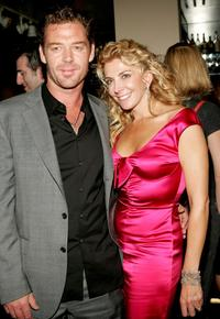 Marton Csokas and Natasha Richardson at the New York premiere of