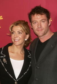 Marton Csokas at the premiere of