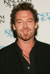 Marton Csokas at the New York premiere of