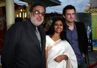 Jag Mundhra, Nandita Das and Nicholas Irons at the Indian Film Festival LA premiere of