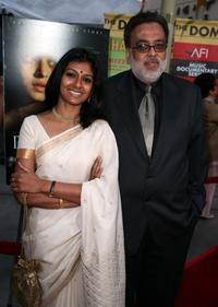 Jag Mundhra and Nandita Das at the Indian Film Festival LA premiere of