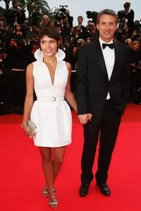 Emma de Caunes and Antoine de Caunes at the premiere of
