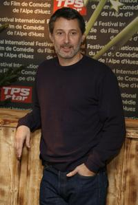 Antoine de Caunes at the opening night of the 10th comedian film festival of