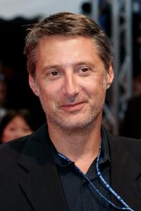 Antoine de Caunes at the premiere of