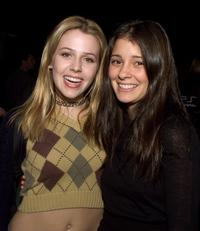 Majandra Delfino and Sheri Appleby at the UPN private party.