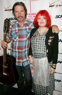 John Doe and Exene Cervenka at the ASCAP Tribeca Music Lounge during the 2007 Tribeca Film Festival.