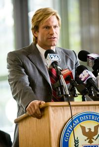 Aaron Eckhart as Harvey Dent in