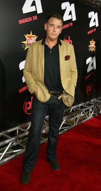 Spencer Garrett at the premiere of