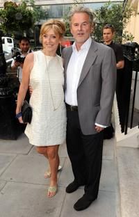 Sharon Maughn and Trevor Eve at the Boodles Wonderland collection launch party.