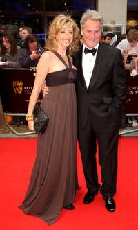 Sharon Maughn and Trevor Eve at the British Academy Television Awards 2008.
