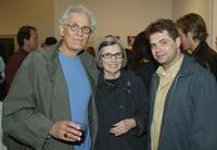 Director Peter Bonerz, Roz Bonerz and Dana Gould at the fresh start benefit art sale and exhibition.