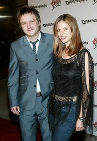 Chris Hardwick and his Friend at the premiere of