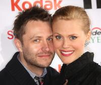 Chris Hardwick and Guest at the second Annual Streamy Awards.