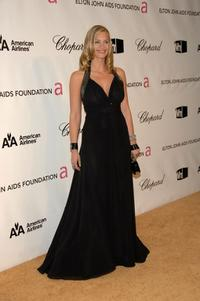 Natasha Henstridge at the 16th Annual Elton John AIDS Foundation Academy Awards viewing party.