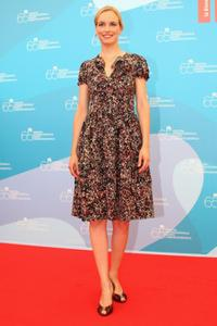 Nina Hoss at the 65th Venice Film Festival.