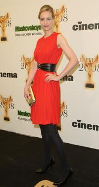 Nina Hoss at the Jupiter Awards.