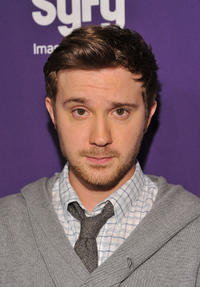 Sam Huntington at the Syfy 2011 Upfront in New York.