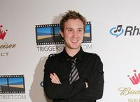 Sam Huntington at the re-launch of Triggerstreet.com.