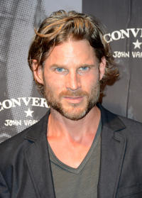 Noah Huntley at the John Varvatos and Converse's Fashion Week celebration and launch of The Weapon in New York City.