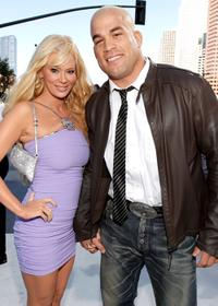 Jenna Jameson and Tito Ortiz at the 2010 MTV Video Music Awards.