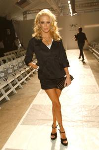 Jenna Jameson at the Mercedes-Benz Fashion Week.