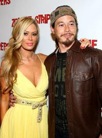 Jenna Jameson and Jay Lee at the premiere of