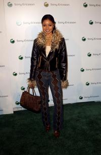 Tamala Jones at the Sony Ericssons Hollywood Premiere Party 2003.