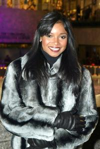 Tamala Jones at the 71st Annual Rockefeller Center Christmas Tree Lighting Ceremony.