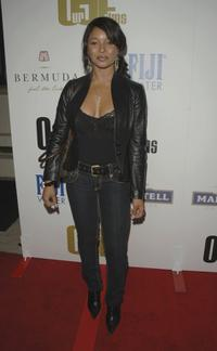 Tamala Jones at the launch party of