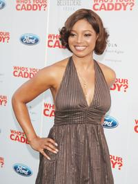 Tamala Jones at the premiere of