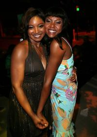 Tamala Jones and Taraji P. Henson at the after party of
