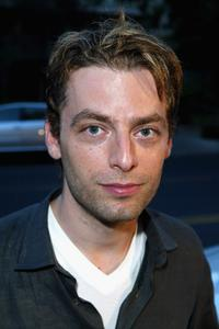 Justin Kirk at the V Life's Emmy Nominee Photo Portfolio party.