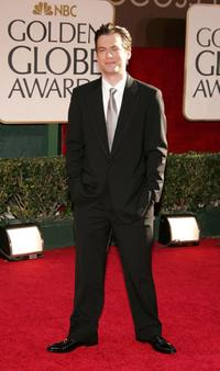 Justin Kirk at the 63rd Annual Golden Globe Awards.