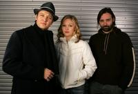 Jeremy Renner, Julia Stiles and Baltasar Kormakur at the 2006 Sundance Film Festival.