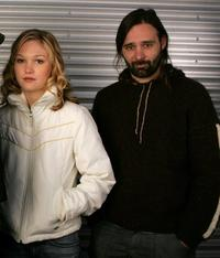 Julia Stiles and Baltasar Kormakur at the 2006 Sundance Film Festival.