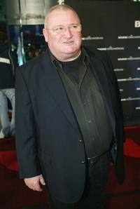 Horst Krause at the German premiere of