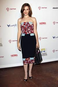 Sarah Lassez at the Benefit for the Los Angeles Mission.