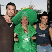 Rupert Everett, Adam Sutton and Concita Miranda at the 2007 Sydney Gay and Lesbian Mardi Gras.