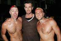 Rupert Everett at the 2007 Sydney Gay and Lesbian Mardi Gras.