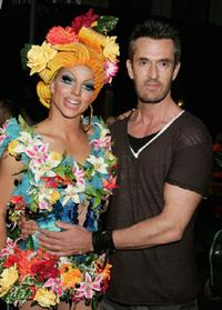 Rupert Everett and Adam Sutton at the 2007 Sydney Gay and Lesbian Mardi Gras.