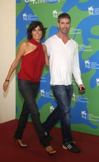 Rupert Everett and Valeria Solarino at the 64th Venice International Film Festival Jury Members Photocall.