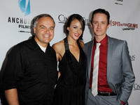 Kevin Kasha, Sarah Butler and Chad Lindberg at the California premiere of