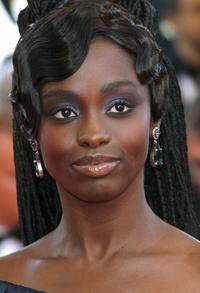 Aissa Maiga at the opening ceremony of 60th edition of the Cannes Film Festival.