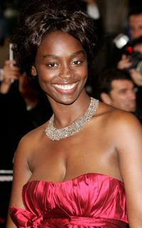 Aissa Maiga at the premiere of