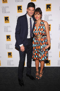 Will McCormack and Rashida Jones at the New York premiere of